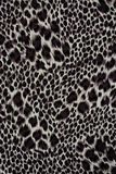 Texture of print fabric striped leopard. For background stock image