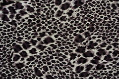 Texture of print fabric striped leopard. For background royalty free stock image