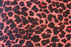 Texture of print fabric striped leopard for background. Used as raw material in publications and businesses royalty free stock photography