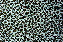 Texture of print fabric striped leopard. For raw materials and background royalty free stock image