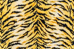 Texture of print fabric striped tiger. For background royalty free stock photos