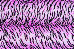 Texture of print fabric striped tiger. For background royalty free stock images