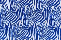 Texture of print fabric striped zebra royalty free stock photos