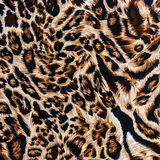 Texture of print fabric stripes leopard. For background stock images