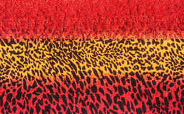 Texture of print fabric stripes leopard. For background stock photos