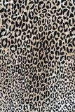 Texture of print fabric stripes leopard Stock Photos
