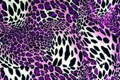 Texture of print fabric stripes leopard. For background stock image