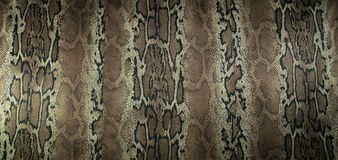 Texture of print fabric stripes snake for background Stock Photos