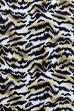 Texture of print fabric stripes tiger. For background royalty free stock photography