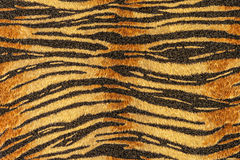 Texture of print fabric stripes tiger Stock Photo