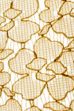 Texture,print and wale of fabric abstract yellow pattern Royalty Free Stock Photography