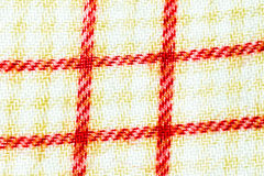 Texture,print and wale of fabric White and Red  pattern Royalty Free Stock Photos