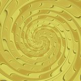 Texture produite par modèle floral psychopathe Photo libre de droits