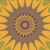 Texture produite par modèle floral psychopathe Photos libres de droits