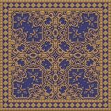Texture produite par tuile décorative Images stock