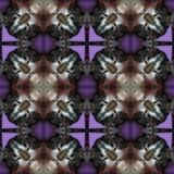 Texture produite sans couture de locations de chat kaléïdoscopique Image stock