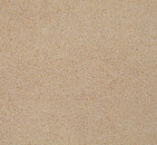 Texture propre sèche de sable de plage Photographie stock