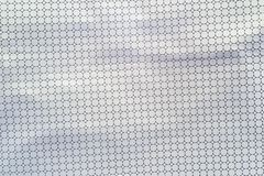 Texture of the punched leather white color Royalty Free Stock Images