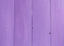 Texture of Purple color paint old plank wall Stock Photos
