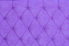 Texture of purple padding Stock Photos