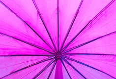 Texture of purple umbrella Stock Photo