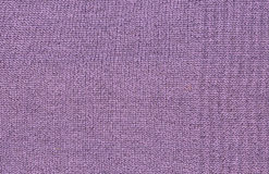 Texture of purple woolen fabric Stock Photo