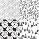 Texture quatre sans couture Image stock