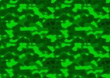 Texture répétitive verte Images stock