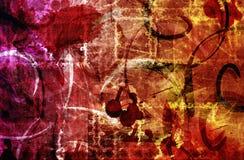 texture röda fläckar för tygmodell whis Royaltyfri Fotografi