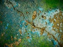 Texture ratatinée criquée Photographie stock libre de droits