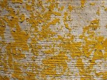 Texture ratatinée jaune Photos libres de droits