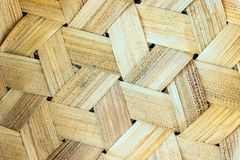 Texture of rattan basket background. Old bamboo weave texture ba. Ckground Royalty Free Stock Images