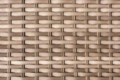 Texture from the rattan braid of garden furniture stock images