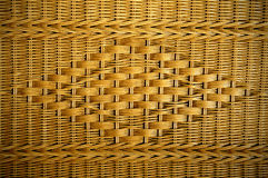 Texture of rattan furniture Royalty Free Stock Images