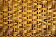 Texture of rattan furniture. Handmade Royalty Free Stock Photo