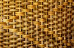 Texture of rattan furniture. Handmade Royalty Free Stock Photos