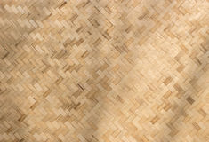 Texture rattan pattern background Stock Image