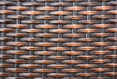 Texture of rattan wall (Native thai style) Royalty Free Stock Photos