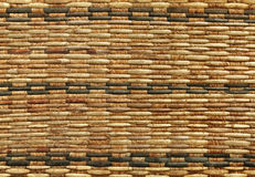 Texture of rattan weave. Close up Stock Photography