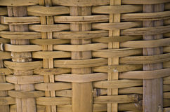 Texture of rattan weave background. Rattan weave background,detail of a Bamboo basket Royalty Free Stock Photos