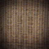 Texture of rattan weaving background Stock Images