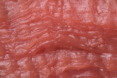 Texture of raw meat. The texture of raw red meat close-up Stock Photo
