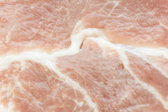 Texture of raw pork steak Royalty Free Stock Images