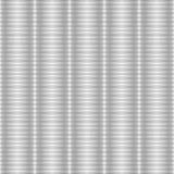 Texture rayée argentée sans couture aucun gradient Photo libre de droits