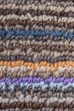 Texture rayée colorée Photo libre de droits