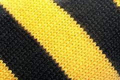 Texture rayée de laines Photos libres de droits