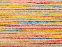 Texture rayée de tissu images libres de droits