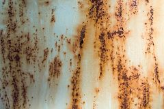 Texture rayée rouillée en métal image stock