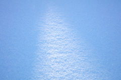 Texture of real snow, winter background Stock Photography