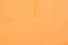 Texture of rectangle orange paper Royalty Free Stock Photos